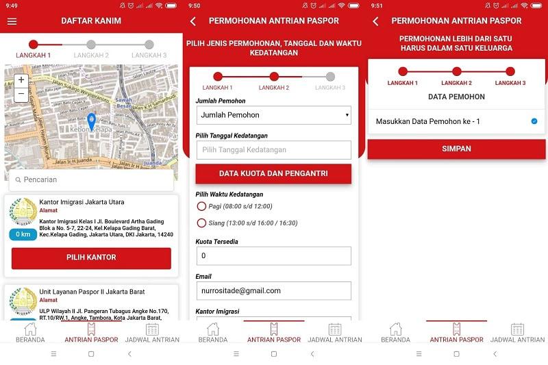 Cara Mendaftar Paspor Online Lewat Aplikasi