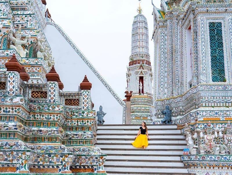 Tempat Wisata Bangkok: Wat Arun