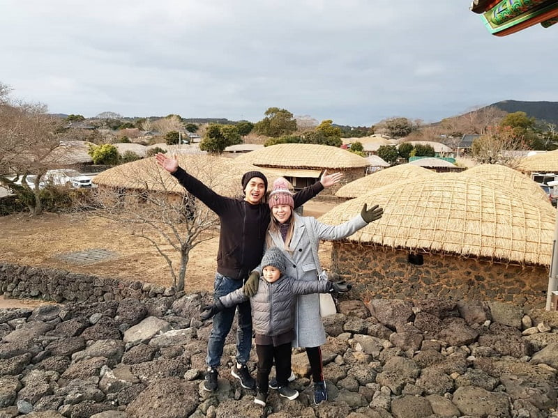 Itinerary Tur ke Pulau Jeju 7D6N - Seongeup Folk Village