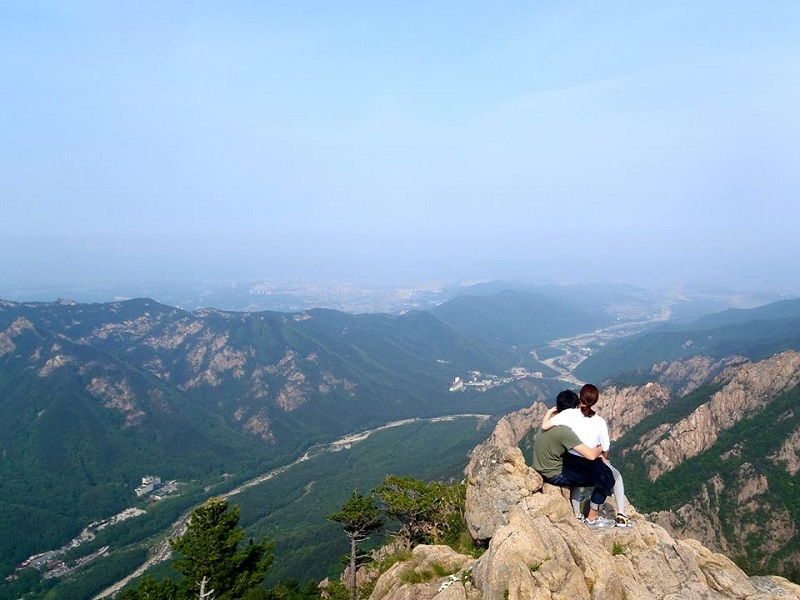 Itinerary Liburan Korea Gung Seorak - Gwongeumseong Fortress