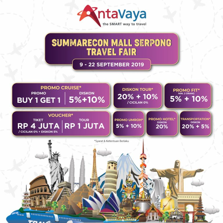 antavaya travel fair