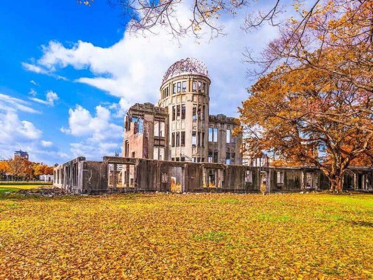 Wisata Sejarah di Jepang Itinerary Liburan 6D4N - Atomic Bomb Dome Hiroshima