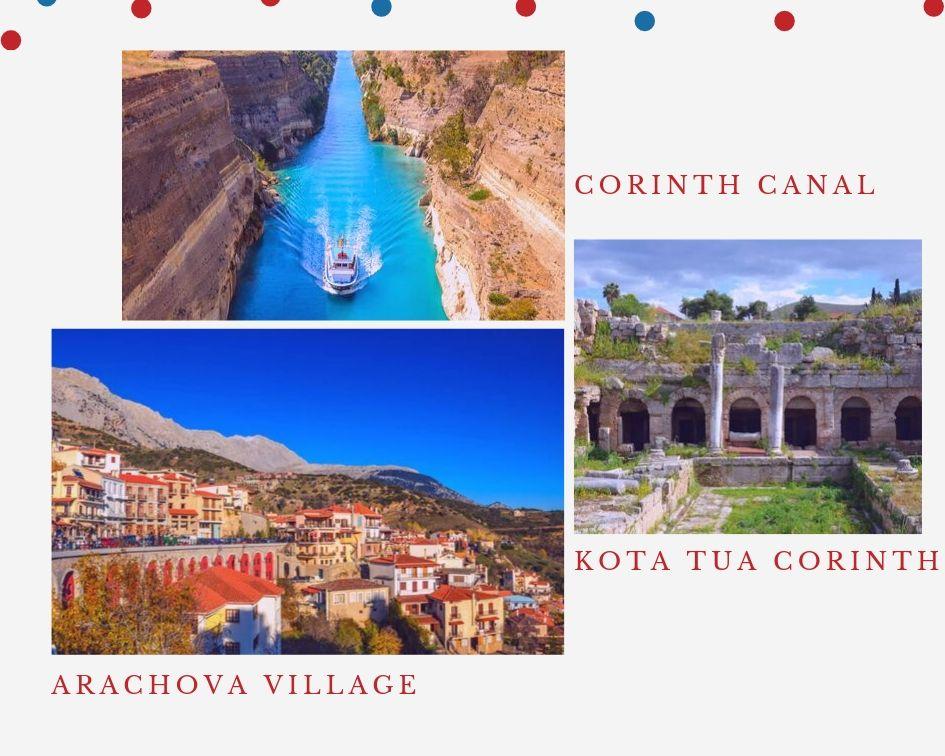 Liburan Yunani dan Santorini - Destinasi Menarik di Arachova dan Corinth