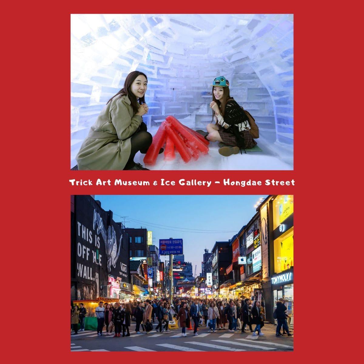 Pengalaman Seru Liburan Musim Dingin di Korea Selatan - Trick Art Museum, Ice Gallery, & Hongdae Street - Sumber Flickr