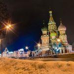 Mau Wisata di Rusia Ini Itinerary Liburan Musim Dingin Selama 10D - Red Square & St Basil Cathedral Moskow