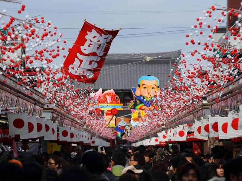 Tempat Terbaik untuk Liburan Akhir & Tahun Baru di Asia - Tokyo Jepang - Sumber Flickr