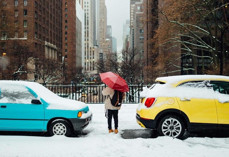 Bawa Payung Saat Liburan Musim Dingin