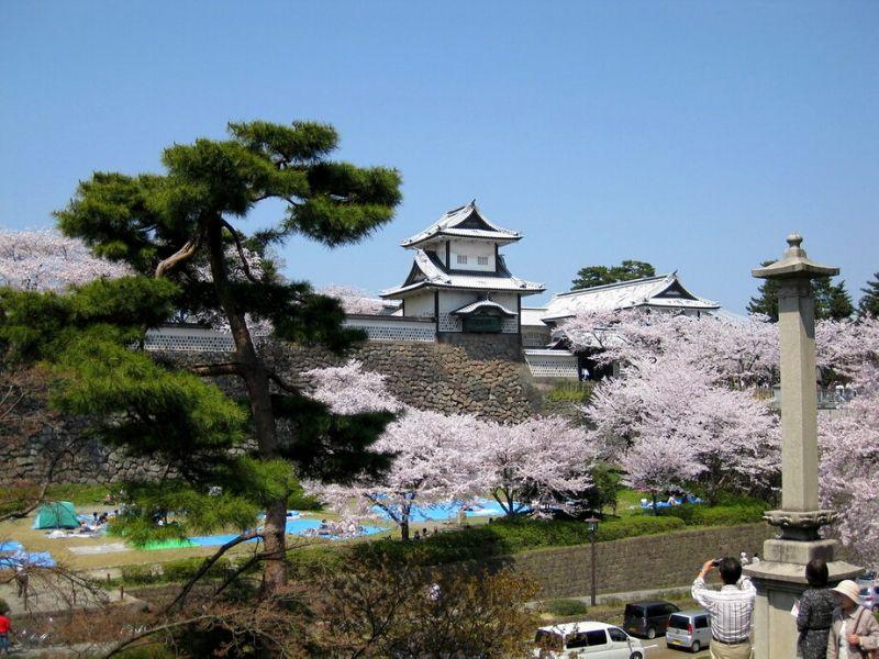 Kanazawa Castle, Jepang - Sumber Flickr