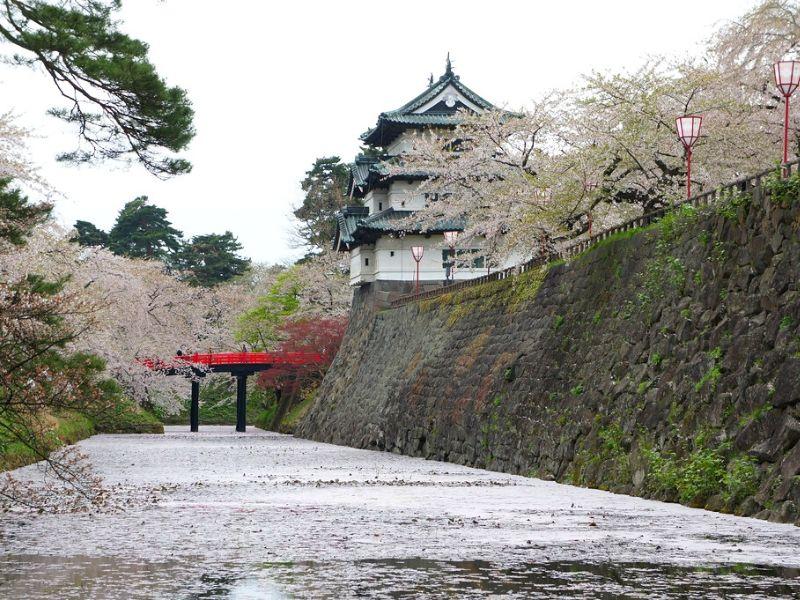 Hirosaki Castle, Aomori - Sumber Flickr