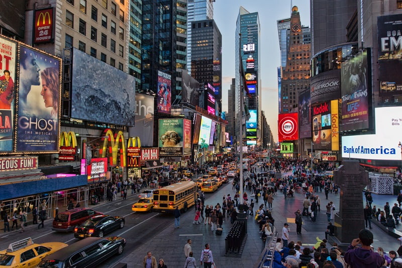 NYC Time Square - Paket Tour Amerika
