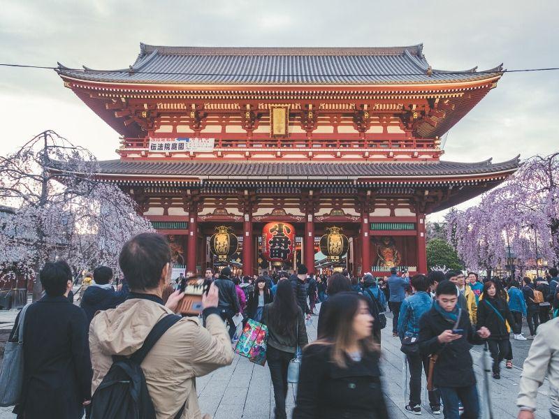 Sensoji Asakusa Kannon Temple Tokyo - Sumber Unsplash