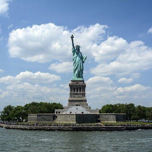 Liberty Island, New York
