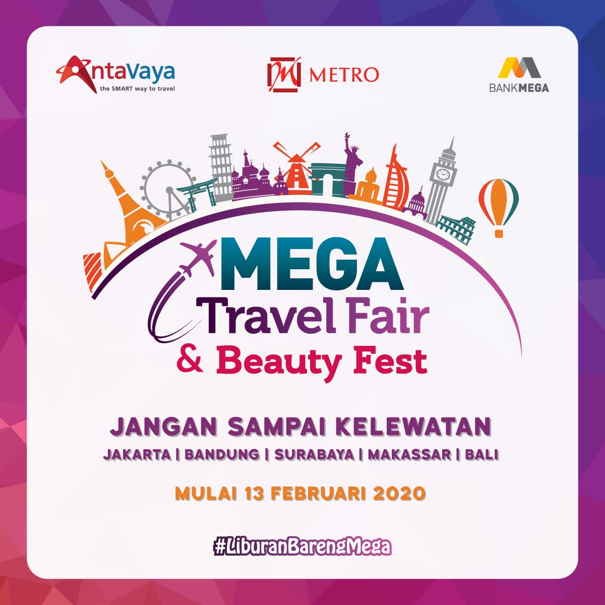 Mega Travel Fair Beauty Fest 2020 Phase 1
