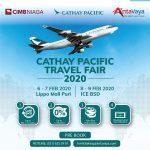 Promo Cathay Travel Fair 2020