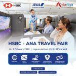 Promo dan Jadwal HSBC-ANA Travel Fair 2020