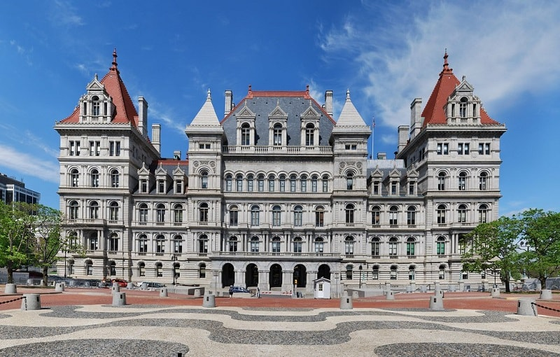 New York State Capitol Albany New York - Sumber Flickr