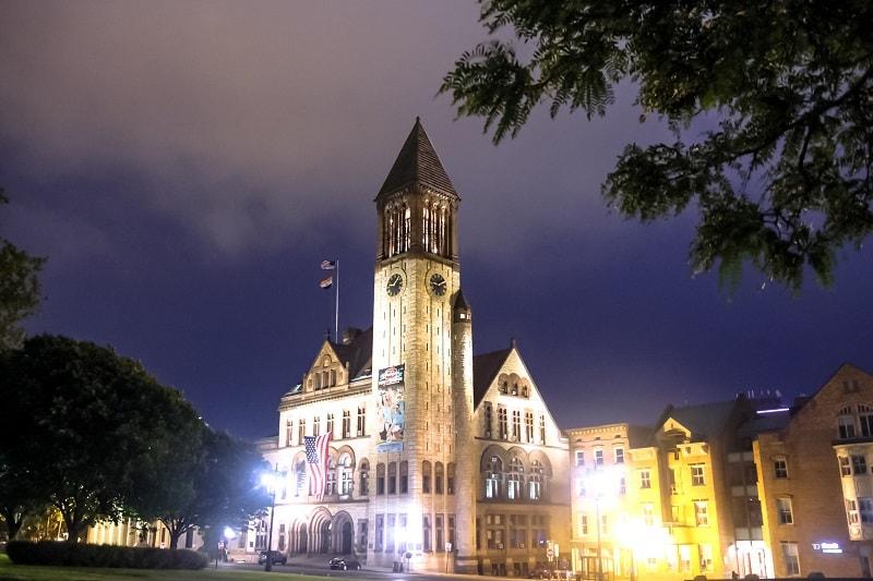 Albany City Hall - Sumber Wikimedia