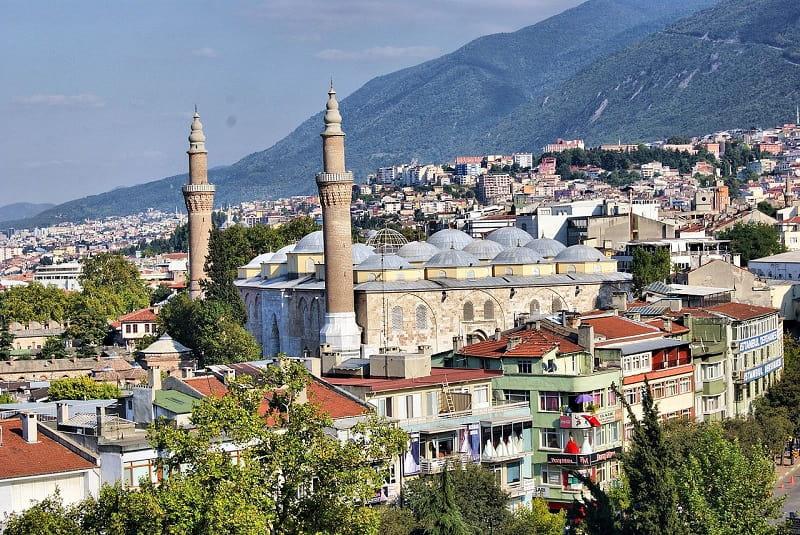 Grand Mosque of Bursa - Sumber Wikimedia