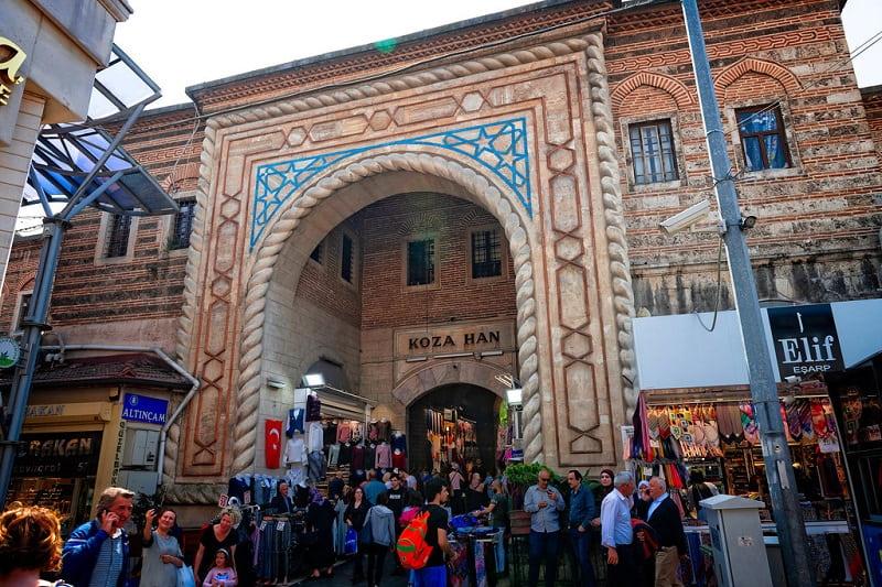 Tempat Belanja di Bursa - Silk Market - Sumber Flickr