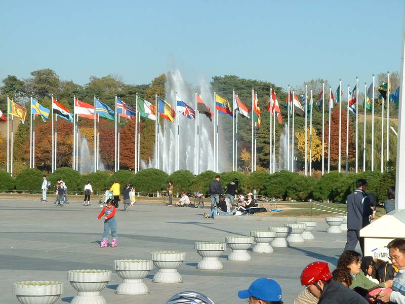 Olympic Park Seoul - Sumber: Wikimedia