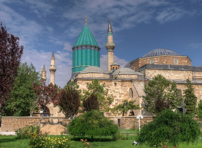Wisata Sejarah - Mevlana Museum - Sumber Wikimedia