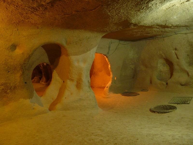 Underground City Cappadocia - Sumber Pixabay