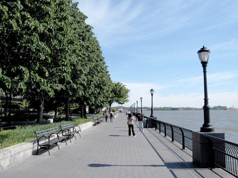 Tempat Wisata di New York - Battery Park - Sumber Wikipedia
