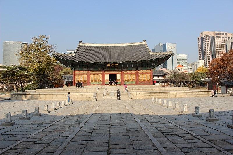 Wisata Terbaik di Seoul - Deoksugung Palace - Sumber Wikimedia