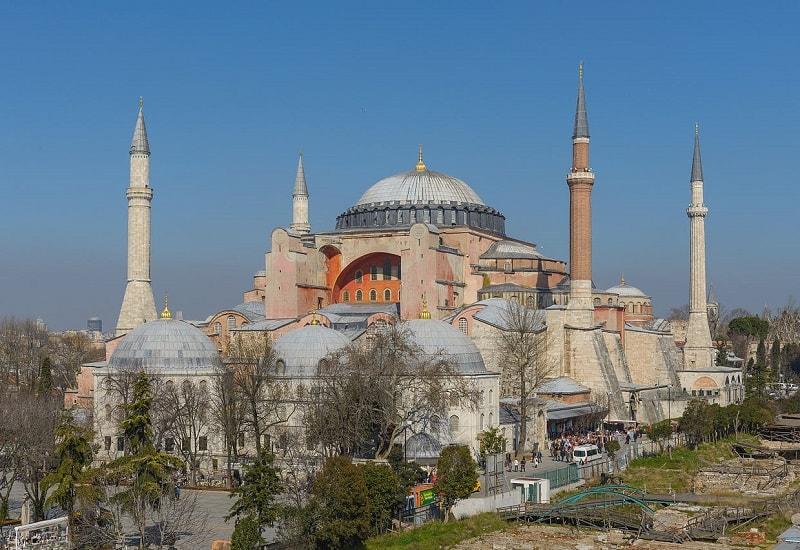 Destinasi Wisata di Turki - Hagia Sophia - Sumber Wikipedia