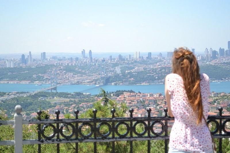 Destinasi di Istanbul - Camlica Hills - Sumber Pinterest