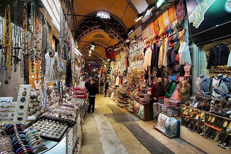 Destinasi Belanja di Istanbul - Grand Bazaar - Sumber Flickr