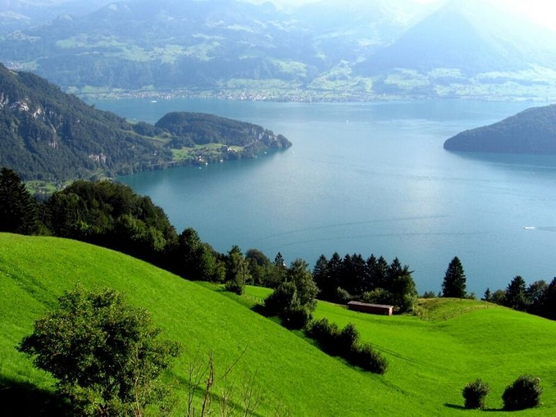 Keliling Eropa - Lucerne Lake, Swiss - Sumber Flickr