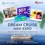 Dream Cruise Mini Expo 2020 Nikmati Promo Buy 1 Get 1 FREE