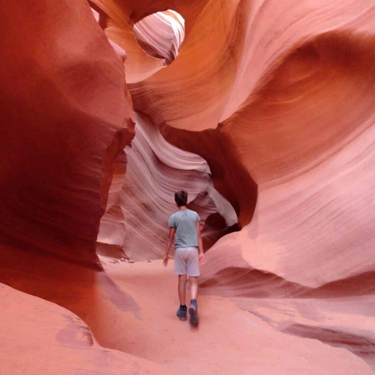 Day 7 Itinerary Liburan Amerika - Antelope Canyon
