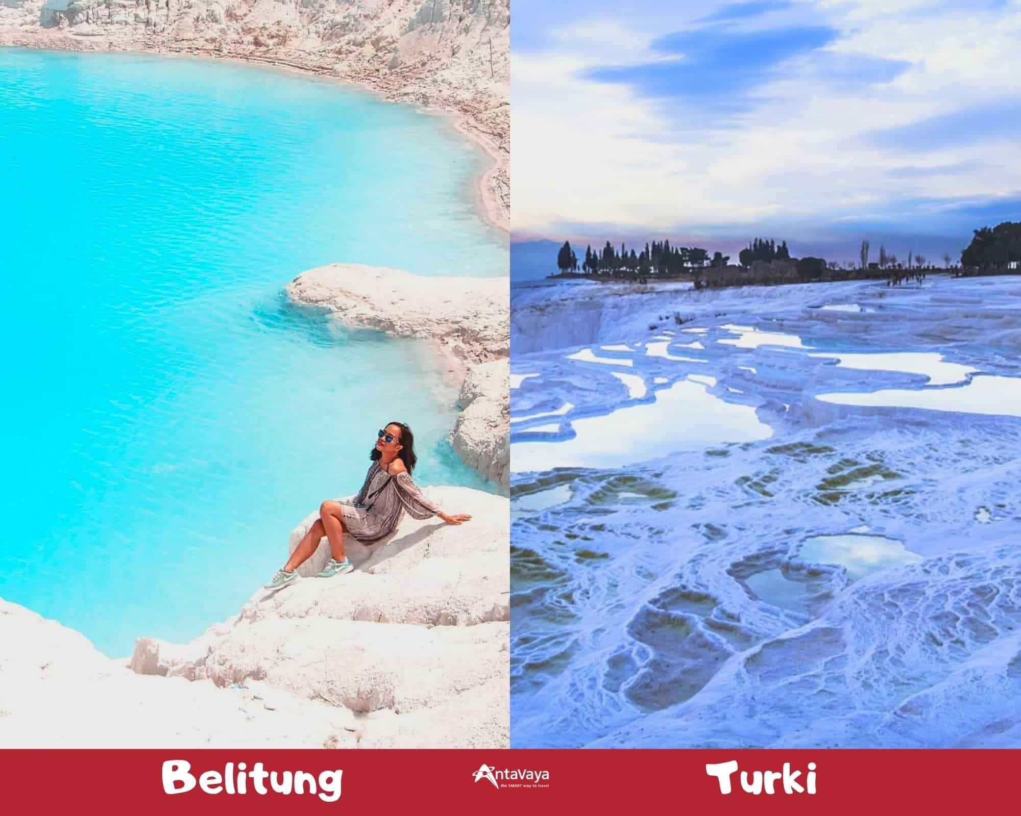 Destinasi Dalam Negeri Rasa Luar Negeri - Sumber Instagram getwanderlusted dan pixabay