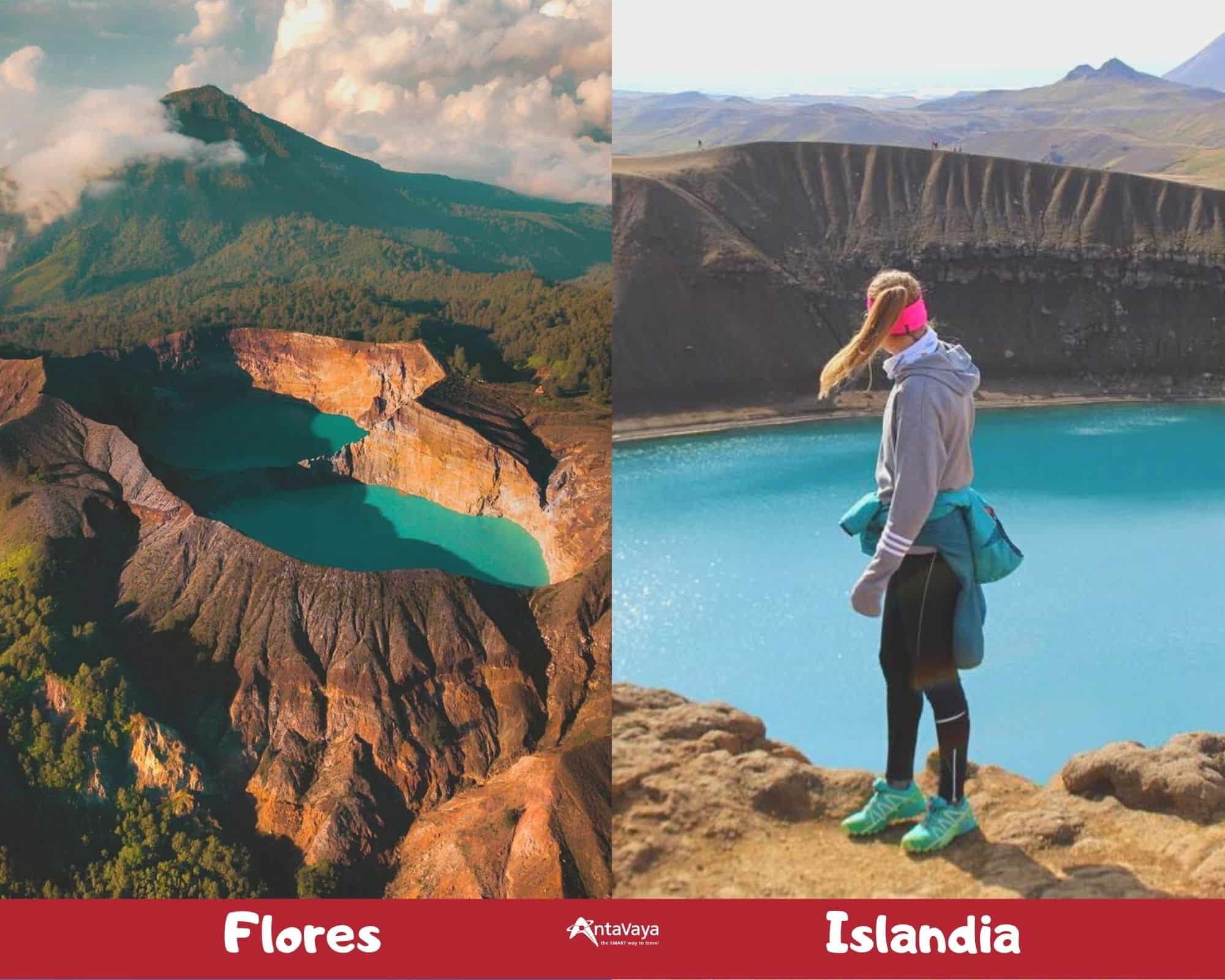 Tempat Wisata Indonesia yang Mirip Luar Negeri - Sumber Instagram thenomadnextdoor dan nicolaschafroth