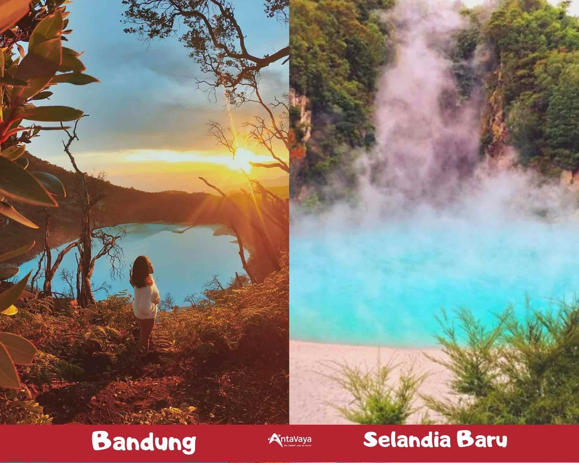 Destinasi Dalam Negeri Rasa Luar Negeri - Sumber Instagram nizamrullah dan Chloeskafte