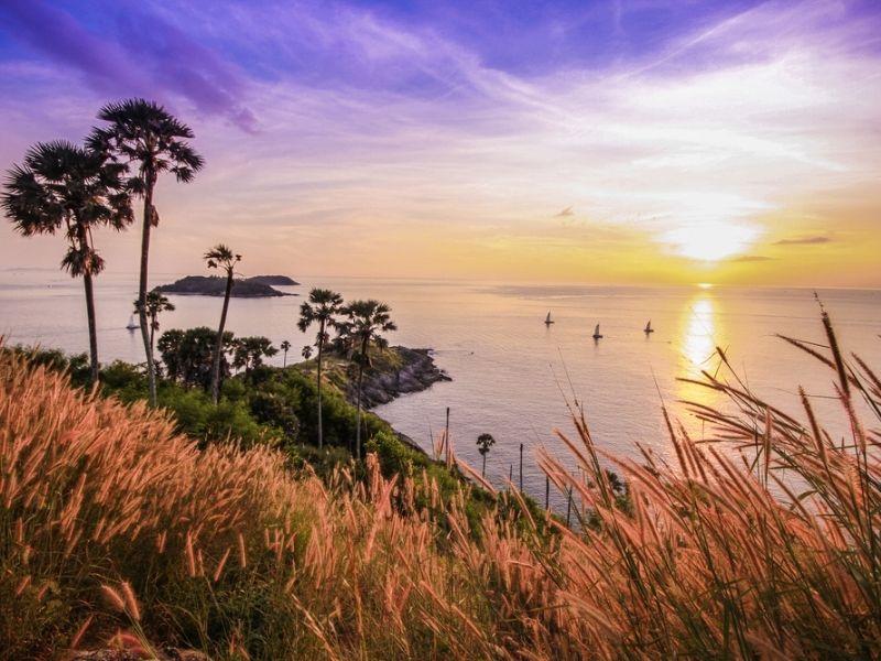 Promthep Cape - Wisata Sunset Phuket Thailand