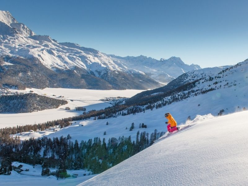 St. Moritz, Winter Terindah di Kaki Gunung Alpen