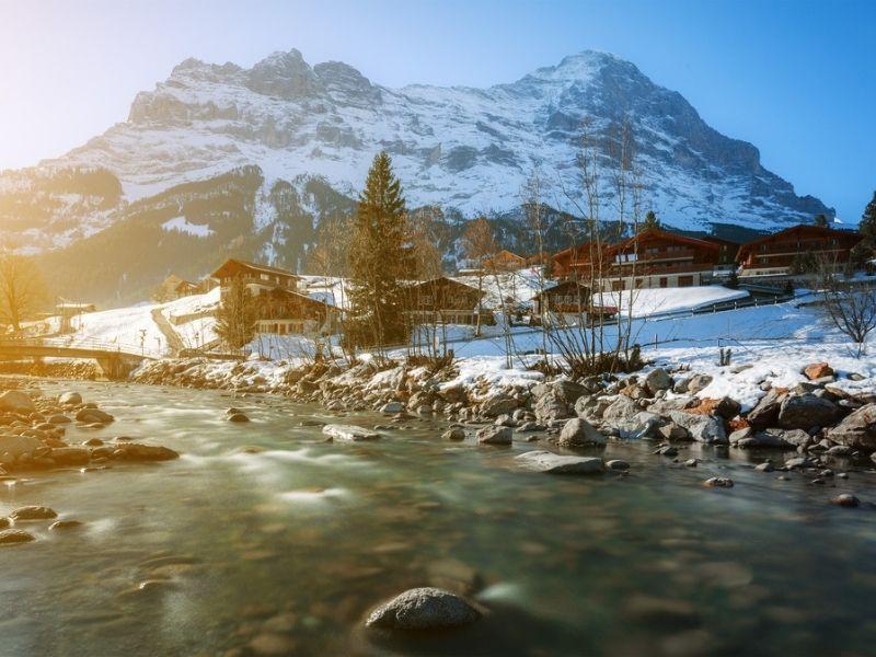 Interlaken, Spot Terbaik Olahraga Esktrem Musim Dingin